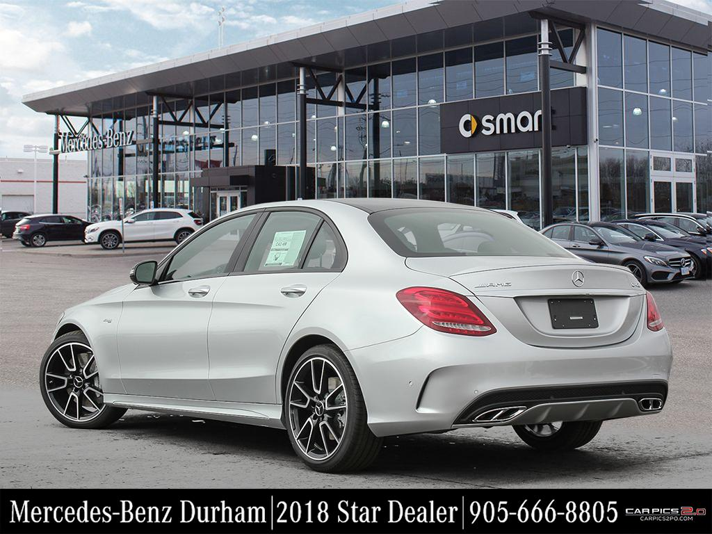 New 2018 mercedes benz c class c43 amg sedan in whitby for Mercedes benz c43 amg lease