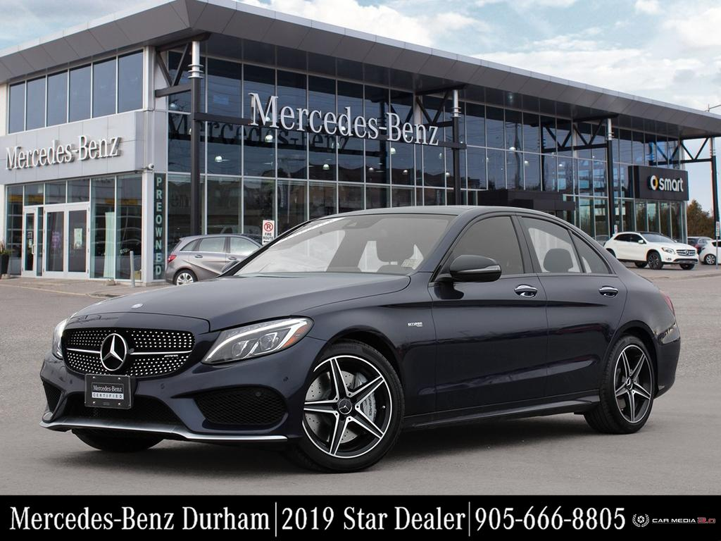 Certified Pre-Owned 2017 Mercedes-Benz C43 AMG 4MATIC Sedan