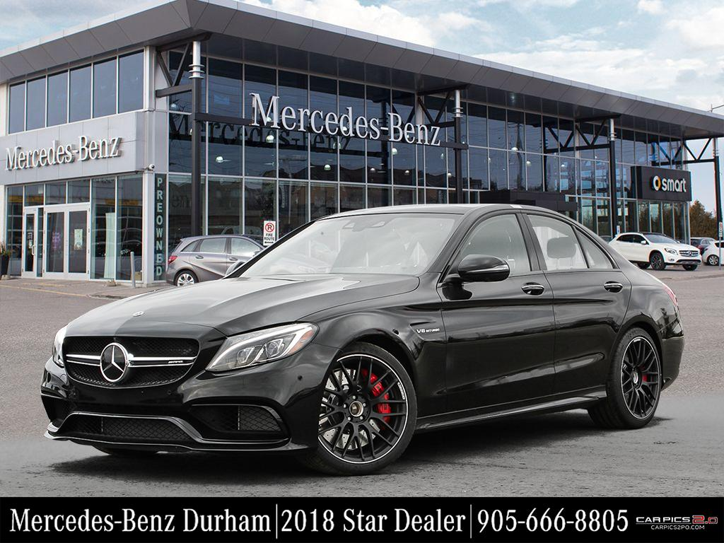 new 2018 mercedes benz c class c63 s amg sedan in whitby i84562 mercedes benz durham. Black Bedroom Furniture Sets. Home Design Ideas