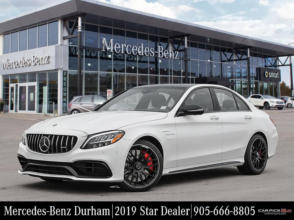 New 2019 Mercedes-Benz C63 S AMG Sedan