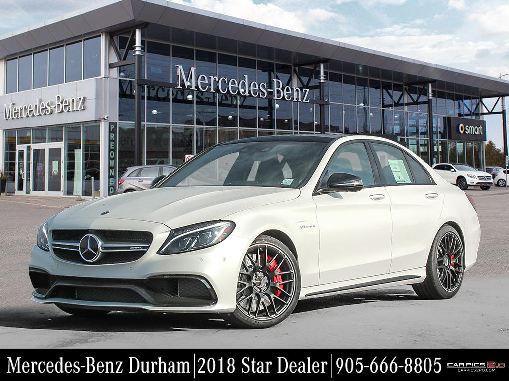 New 2018 mercedes benz c class c63 s amg sedan in whitby for Mercedes benz c class service b