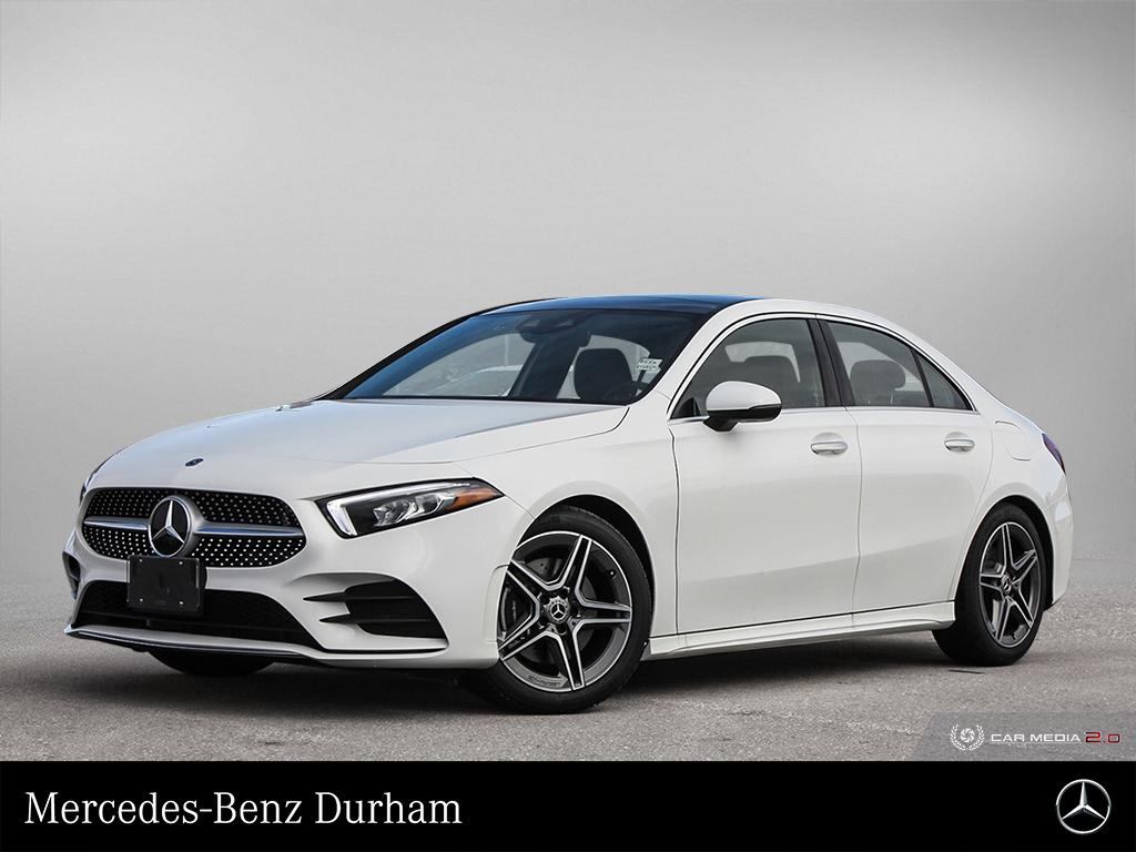 New 2020 Mercedes-Benz A220 4MATIC Sedan
