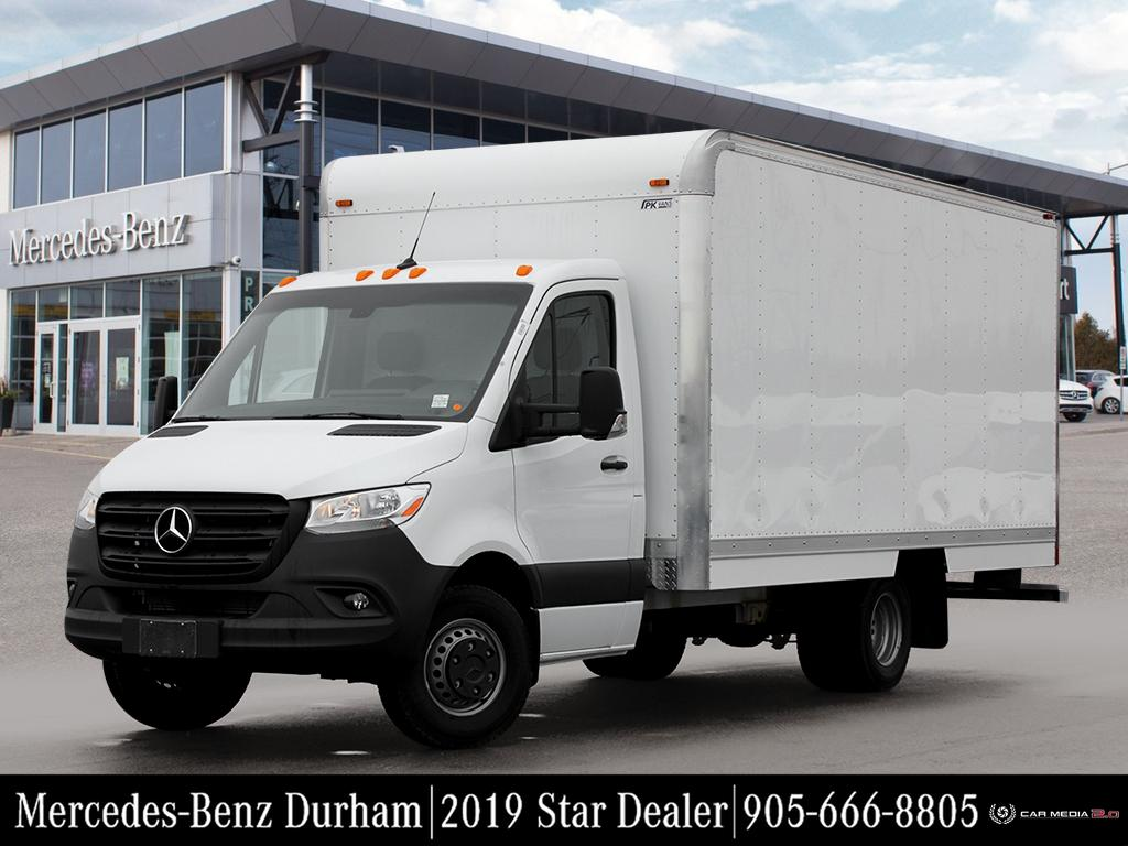 New 2019 Mercedes-Benz Sprinter V6 4500 Chassis 170