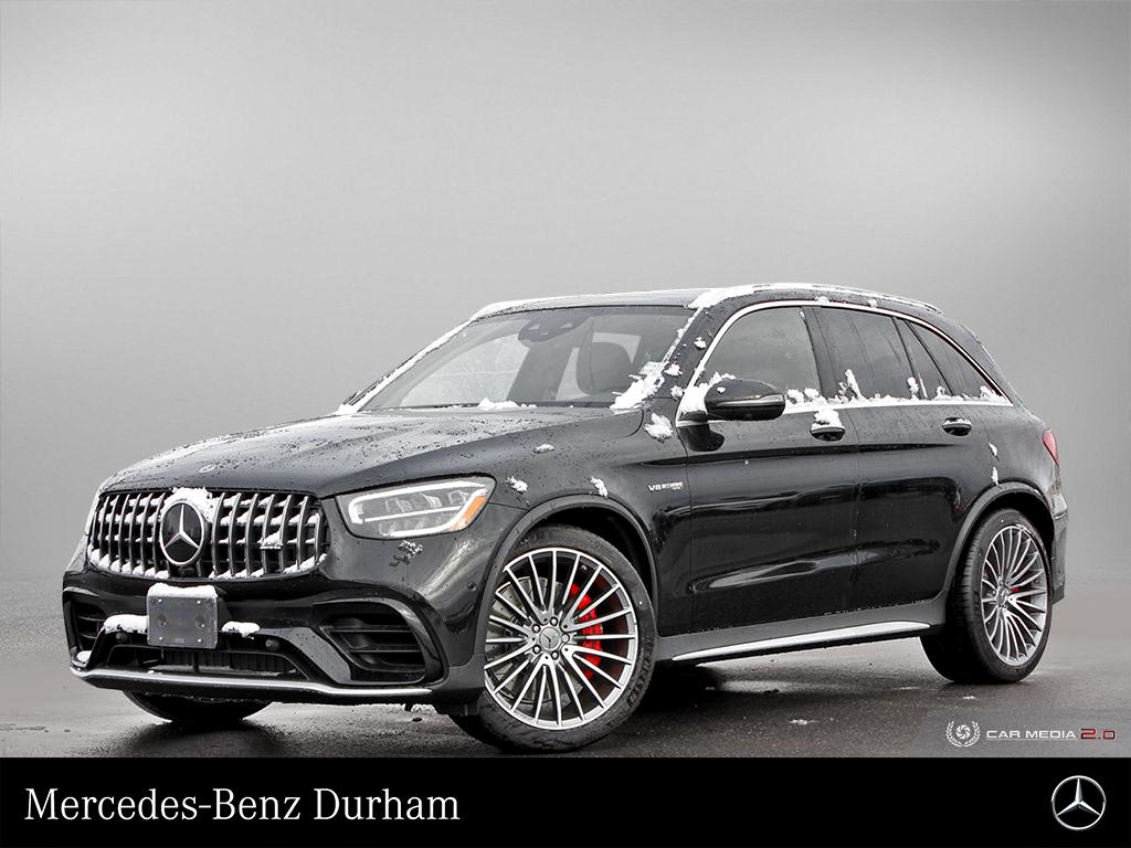 New 2020 Mercedes-Benz GLC63 AMG S 4MATIC + SUV