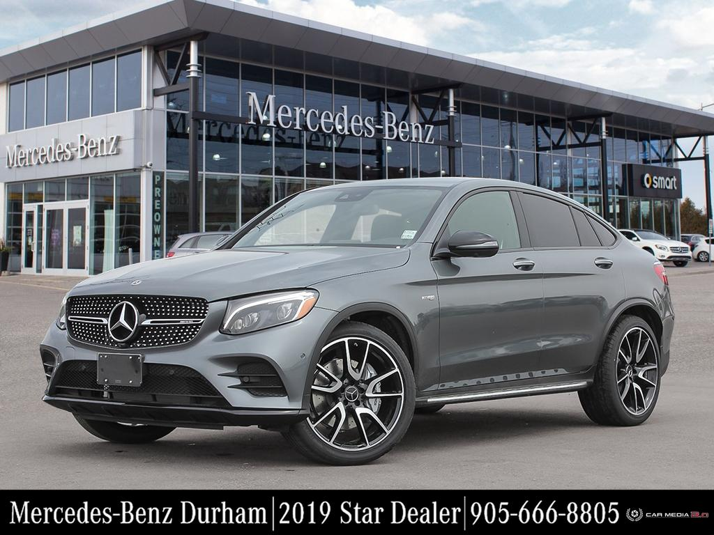 New 2019 Mercedes-Benz GLC43 AMG 4MATIC Coupe
