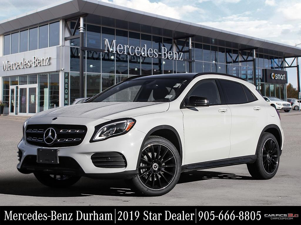 New 2019 Mercedes Benz Gla250 4matic Suv In Whitby K45524 Durham