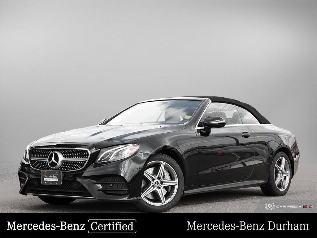 Certified Pre-Owned 2019 Mercedes-Benz E450 4MATIC Cabriolet