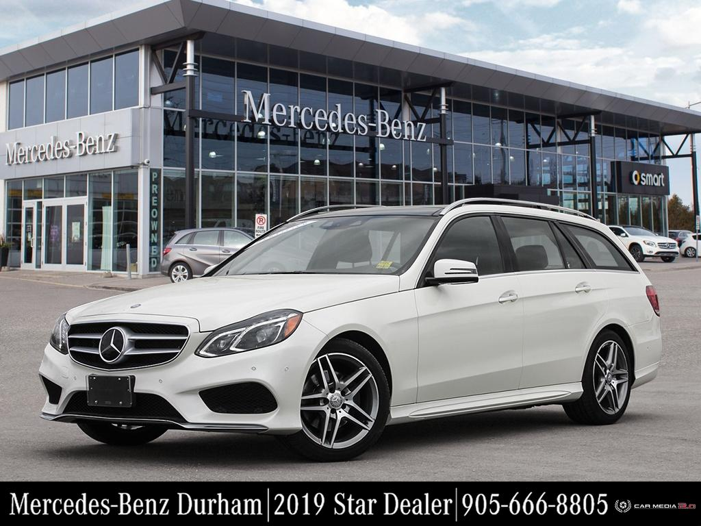 Certified Pre-Owned 2016 Mercedes-Benz E400 4MATIC Wagon