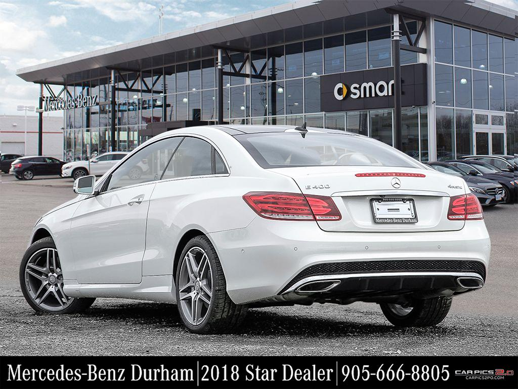 New 2017 mercedes benz e class e400 coupe in whitby for E400 mercedes benz 2017