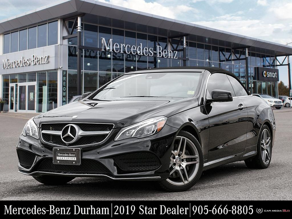 Certified Pre-Owned 2015 Mercedes-Benz E400 Cabriolet