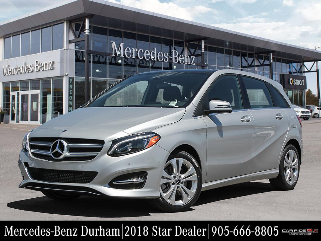 New 2018 Mercedes Benz B250 4matic Sports Tourer