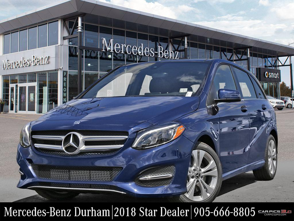 New 2018 mercedes benz b class b250 sports tourer in for Mercedes benz service charges