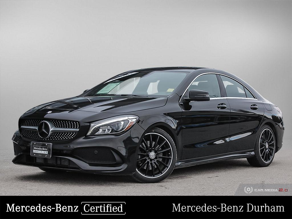 Certified Pre-Owned 2017 Mercedes-Benz CLA250 4MATIC Coupe