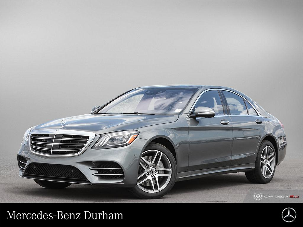 New 2019 Mercedes-Benz S560 4MATIC Sedan (SWB)