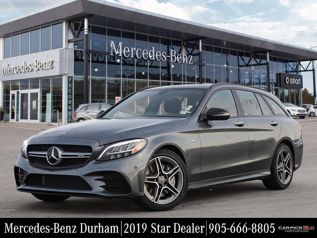 new 2019 mercedes benz c43 amg 4matic wagon wagon in. Black Bedroom Furniture Sets. Home Design Ideas