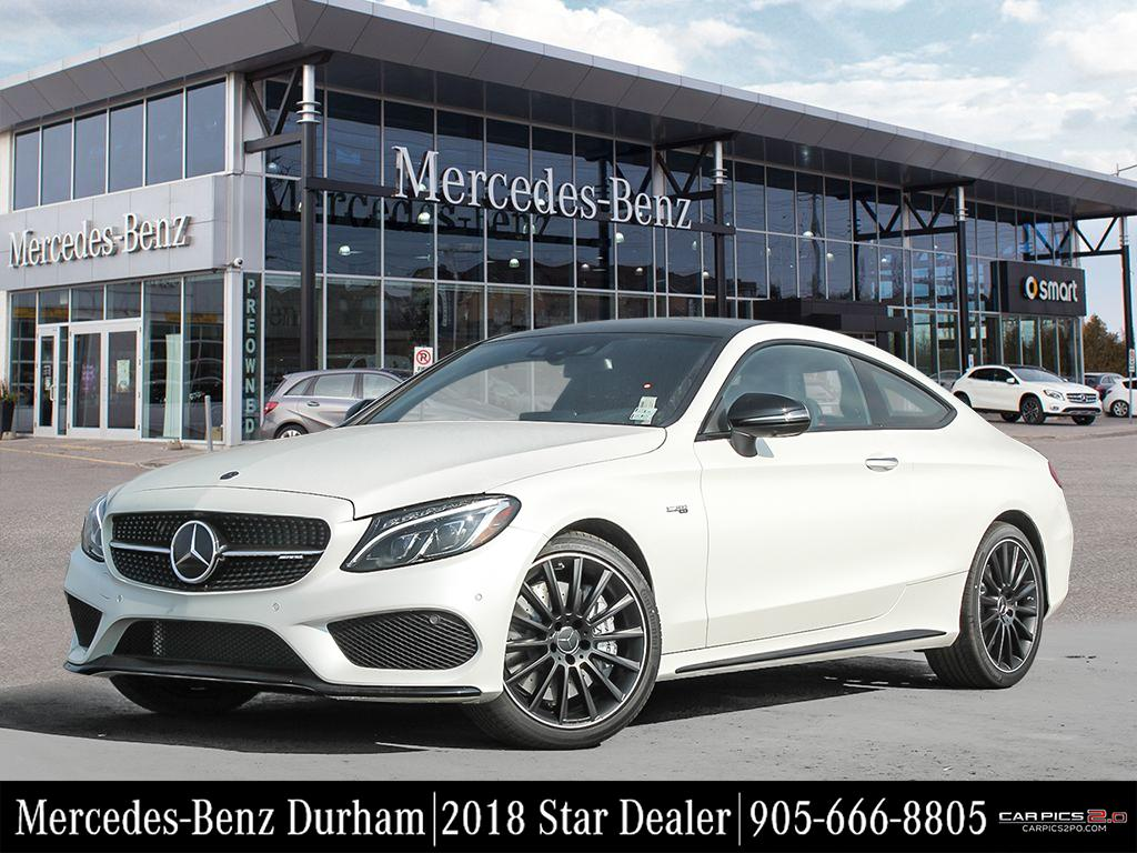 New 2018 mercedes benz c class c43 amg coupe in whitby for Mercedes benz service charges