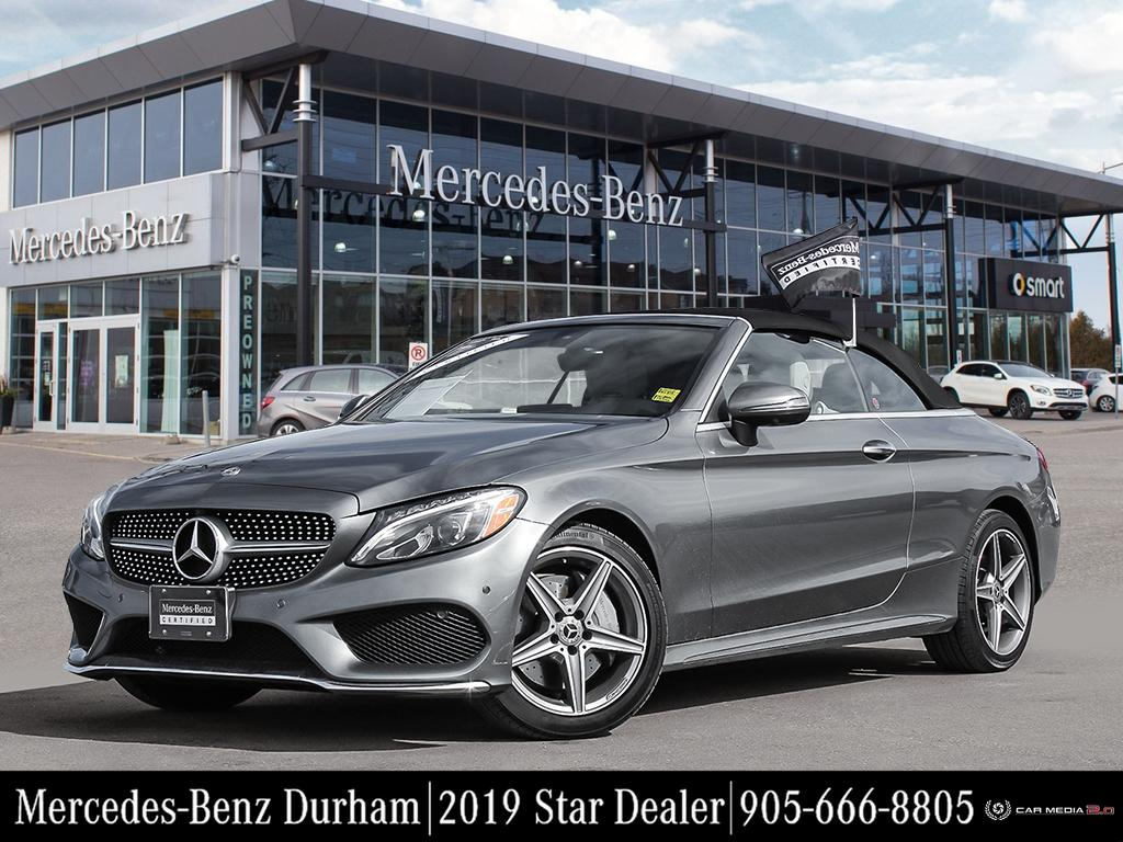Certified Pre-Owned 2018 Mercedes-Benz C300 4MATIC Cabriolet