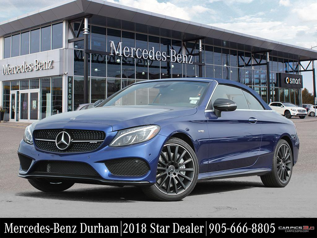 New 2018 mercedes benz c class c43 amg cabriolet in whitby for Mercedes benz service charges
