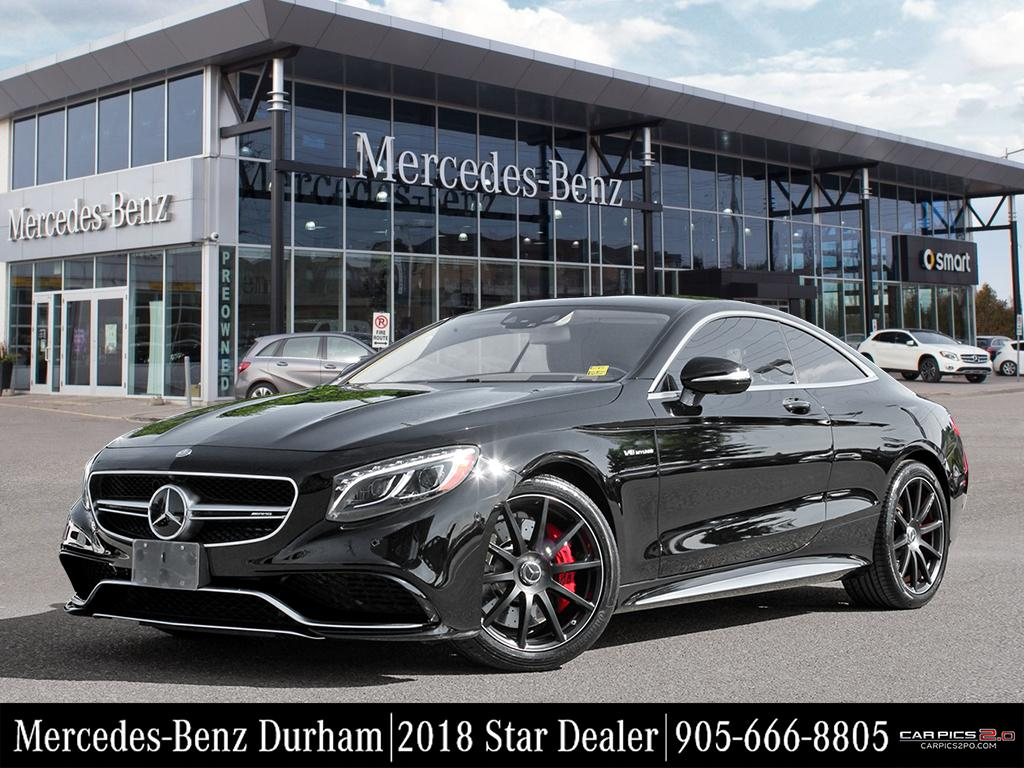 Certified Pre Owned 2015 Mercedes Benz S CLASS S63 AMG