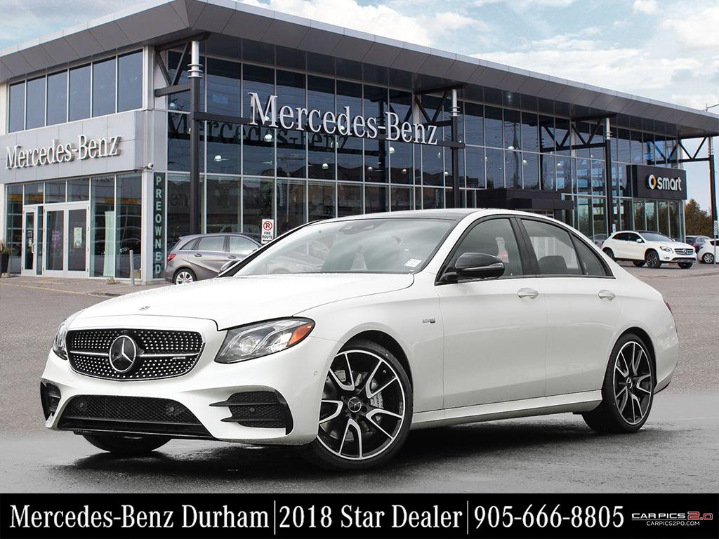 New 2018 mercedes benz e class e43 amg sedan in whitby for Mercedes benz sales jobs