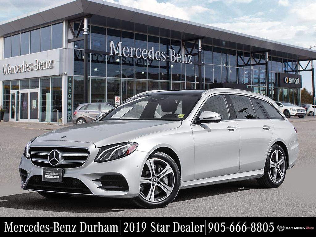 Certified Pre-Owned 2019 Mercedes-Benz E450 4MATIC Wagon