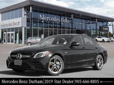New 2019 Mercedes-Benz C43 AMG 4MATIC Sedan