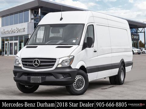 New 2017 Mercedes-Benz Sprinter V6 3500 Cargo 170 Ext.