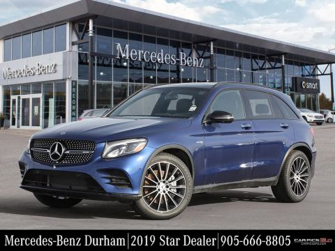 New 2019 Mercedes Benz Glc43 Amg 4matic Suv Suv In Whitby K30292