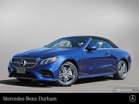2020 Mercedes-Benz E450 4MATIC Cabriolet