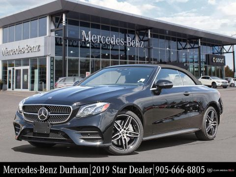 New 2019 Mercedes-Benz E450 4MATIC Cabriolet